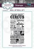 CE Rubber Stamp by Andy Skinner - Roll Up Roll Up! - CEASRS003